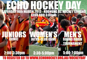 2013 ECHO Hockey Day